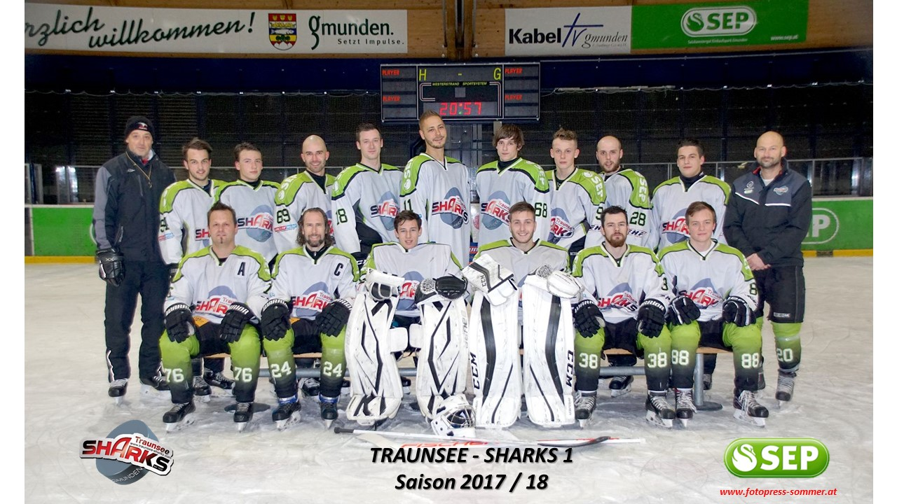 Traunsee Sharks 1 - 2017/18