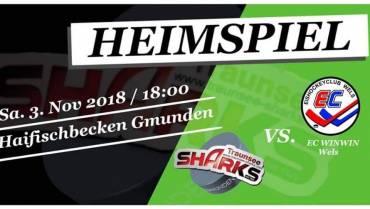 Eishockey Saisoneröffnung gleich mit echtem Schlagerspiel Gmunden-Wels!