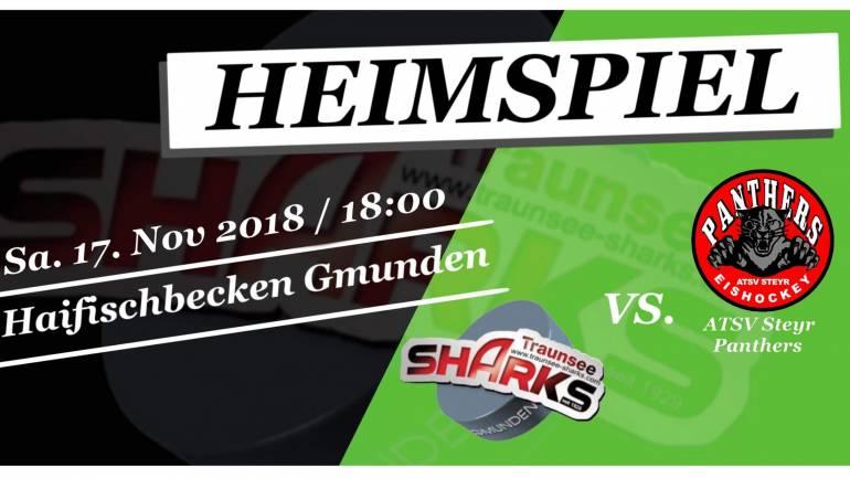 Heimspiel Sharks 1 gegen Steyr Panthers