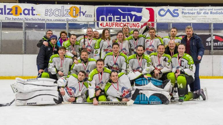 Traunsee Sharks 3 sind Vizemeister der OÖ AHL