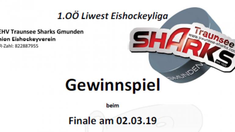 Gewinnspiel beim Finale am 2.3.2019