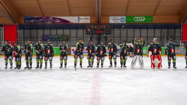 Die Gmundner Haie starten mit einem 6:4 Sieg in die neue Saison!
