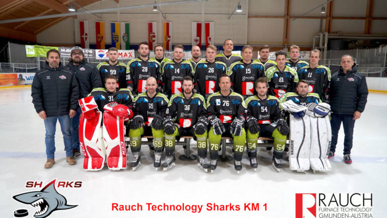 """Die RAUCH TECHNOLOGY SHARKS """"verhungern"""" in Linz!"""